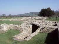 Chesters Roman Fort (Hadrian`s Wall) - Northumberland - Landmark