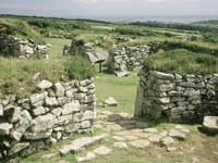 Chysauster Ancient Village - Cornwall - Landmark