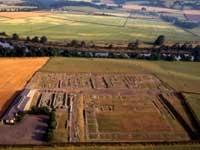 Corbridge Roman Site (Hadrian`s Wall) - Northumberland - Landmark