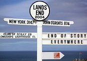 Lands End - Cornwall - Landmark
