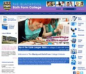 The Blackpool Sixth Form College - University