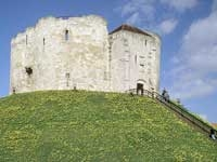 Clifford`s Tower - North Yorkshire - Castle